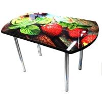 Стол обеденный клубника